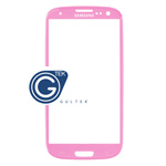 Samsung I9300 Galaxy S III Lens Glass with adhesive (Pink)