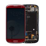 Genuine Samsung GT-I9300 Galaxy S3 LCD / Touch Module - Garnet Red - GH97-13630C