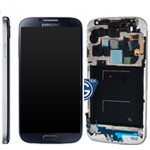 Genuine Samsung Galaxy S4 GT-i9500 Complete lcd and digitizer with frame in Black Mist - Part no: GH97-14630B