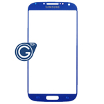 Samsung i9500/i9505 Galaxy S4 Glass Lens with Adhesive in Metallic Blue