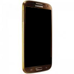 Genuine Samsung Galaxy S4 IV Gold Brown GT I9505 Complete lcd and digitizer with frame - Samsung Part Code: GH97-14655H