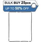 Bulk 25pcs iPad 2 Mid frame black - only 0.56p each