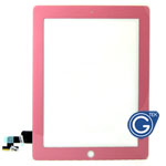 iPad 2 Digitizer Touchpad in Pink- Compatible Part