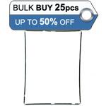 Bulk 25pcs iPad 3, iPad 4 Mid frame black - only 0.56p each