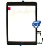 iPad Air Digitizer in Black with Parts for . Note: Please use your existing home button otherwise will not function to sleep mode- Replacement compatible part