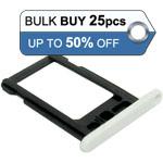 25pcs bulk packed iPhone 5C sim holder white