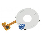iPod Classic Jog wheel ribbon in White- Replacement part (compatible)