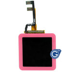 iPod Nano 6 Complete LCD with Digitizer in Pink- Replacement part (compatible)
