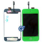 iPod touch 4 Complete LCD with Digitizer in Green - Replacement part (compatible)