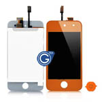 iPod touch 4 Complete LCD with Digitizer in Dark Orange- Replacement part (Compatible)