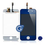 iPod touch 4 Complete LCD with Digitizer in Dark Blue - Replacement part (compatible)