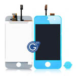 iPod touch 4 Complete LCD with Digitizer in Light Blue- Replacement part (compatible)