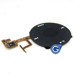 iPod  Video jog wheel ribbon black with home button in black