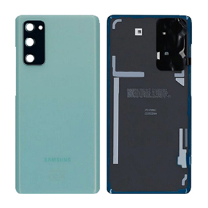 Genuine Samsung Galaxy S20 FE 5G (SM-G781) Battery Cover In Cloud Mint - Part no: GH82-24223D