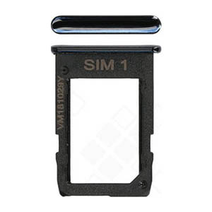 Genuine Samsung Galaxy J4+ (SM-J415F) Sim Card Holder In Black - Part No: GH64-07066A