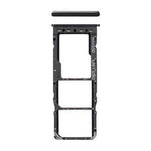 Genuine Samsung Galaxy A10 (A105F) Sim/SD Card Holder Black - Part No: GH98-44169A