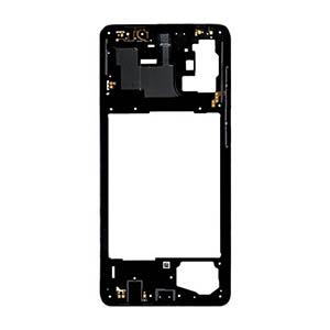 Genuine Samsung Galaxy A31 (A315F) Middle Frame Black - Part No: GH98-45428A