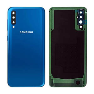 Genuine Samsung Galaxy A50 (A505F) Back Cover Blue - Part No: GH82-19229C