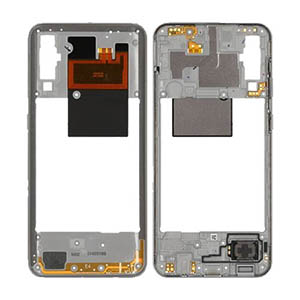 Genuine Samsung Galaxy A50 (A505F) Middle Cover White - Part No: GH97-23209B