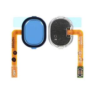 Genuine Samsung Galaxy A40 (A405F) Home Button Flex Blue - Part No: GH96-12484C