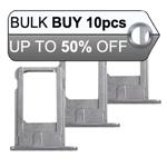 10Pcs iPhone 6 Sim Holder Tray in Grey