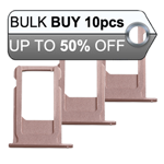 10Pcs iPhone 6S Plus Sim Card Holder Tray in Rose Gold
