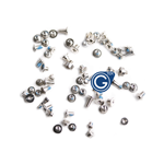 iPhone 7 Complete Screw set with Bottom Screws in Silver -Replacement part (compatible)