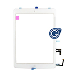 iPad Air Digitizer with Parts in White- Note: Please use your existing home button otherwise will not function to sleep mode-Replacement compatible part