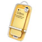 URV White Bumper Case for Apple iPhone 7 - 0.18mm in retail packaging
