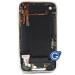 iphone 3G 16gb black back cover with parts complete without battery