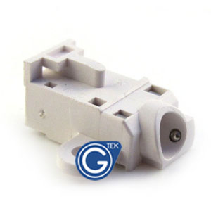 iPhone 3g 3gs earphone connector only in white