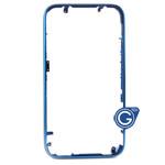 iPhone 3G 3GS metal bezel blue