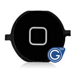 iPhone 4S Home button black - Replacement compatible part