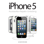iPhone 5 Accessories, Repairs & Unlocking A2 (Medium) Poster (shipped within UK only and maybe delivered seperately)