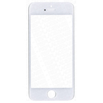 iPhone 5S, SE front Glass/Lens in white