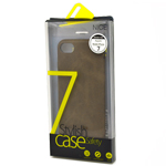 Stylish iPhone 7 Faux Leather Back Cover Case in Brown
