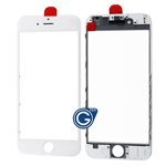 iPhone 6 lcd Lens with Frame (Cold Pressed) in White