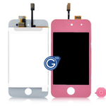 iPod touch 4 Complete LCD with Digitizer in Pink - Replacement part (compatible)