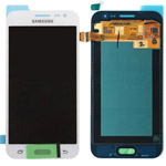 Genuine Samsung SM-J200, Galaxy J2, J200F, J200G lcd and touchpad in white - Part no: GH97-17940A