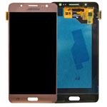 Genuine Samsung SM-J510 Galaxy J5 (2016) Complete Lcd with Digitizer in Pink Gold- Samsung part no: GH97-18792D