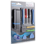 Pro Opening tool Kaisi 1808 for iphone 4s, 4, 3G, 3GS ipad incl sim cutter, Holder, Suction pad & more