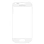 Samsung I8190 Galaxy S III Mini Lens Glass with Adhesive in White