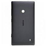 Genuine Nokia Lumia 520, Lumia 525 Battery Cover (Black) - P/N:02502Z6, Battery Door, Back-Cover
