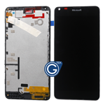 Microsoft Lumia 640 Complete LCD and Digitizer Assembly with Frame