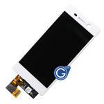Sony Xperia M5 Complete LCD with Digitizer in White - OEM