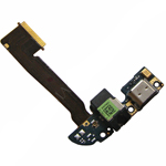 Genuine HTC One (M8)  Charging Port Flat cable, Micro USB Connector / Microfone Flexcable - P/N:51H10234-01M