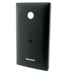 Genuine  Microsoft Lumia 435 Battery Cover in Black- Microsoft part no: 02508T6