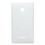 Genuine Microsoft Lumia 435 Battery Cover in White-Microsoft part no: 02508T7