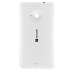 Genuine Microsoft Lumia 535 Battery Cover in White-P/N:8003486