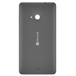 Genuine Microsoft Lumia 535 Battery Cover in Dark Grey-P/N: 8003484